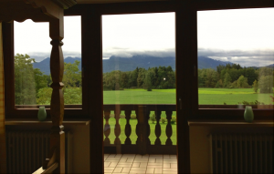 All our treatment rooms feature stunning views of the Bavarian Alps.